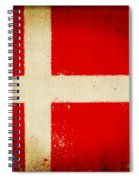 Denmark Flag Spiral Notebook