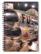Dennis The Menace, North American F-86d Sabre Spiral Notebook