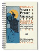 Denslows Night Before Christmas By Clement Moore Lld 1902 Spiral Notebook