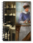 Dentist - An Incisive Decision - 1917 - Side By Side Spiral Notebook