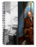 Dentist - Monkey Business 1924 - Side By Side Spiral Notebook