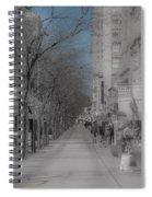 Denver 16th Street Mall Spiral Notebook