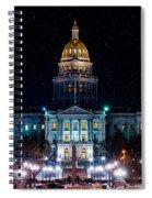 Denver Capital Nights Spiral Notebook
