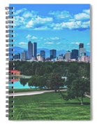 Denver City Park Spiral Notebook