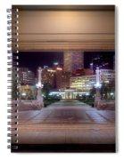 Denver Civic Center Park  Spiral Notebook