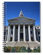 Denver, Colorado Courthouse Spiral Notebook