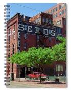 Denver Downtown Warehouse Spiral Notebook