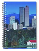 Denver Skyline Spiral Notebook