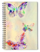 Departure In Purpose And Life As You Are By Lisa Kaiser Spiral Notebook