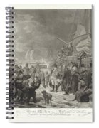 Departure Of Prince William V, 1795, Joannes Bemme, After Dirk Langendijk, After Christoffel Meijer, Spiral Notebook