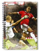 Depay In Action Spiral Notebook