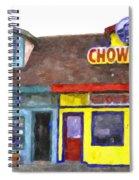 Depoe Bay Oregon - Chowder Bowl Spiral Notebook