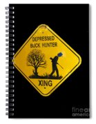 Depressed Buck Hunter Spiral Notebook