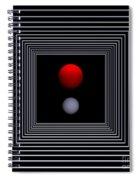 Depth   -2- Spiral Notebook