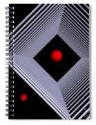 Depth  -4- Spiral Notebook