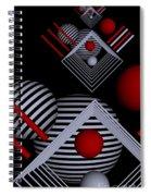 Depth   -7- Spiral Notebook