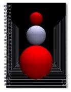 Depth  -9- Spiral Notebook