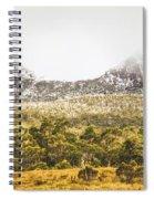Depths And Ranges  Spiral Notebook