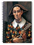 Derain: Harlequin, 1919 Spiral Notebook