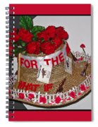 Derby Day Hat - 2 Spiral Notebook