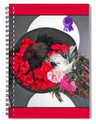 Derby Day Hat - 3 Spiral Notebook