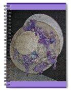 Derby Day Hat - 5 Spiral Notebook