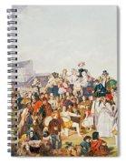 Derby Day Spiral Notebook