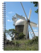 Derbyshire Windmill Spiral Notebook