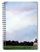 Derelict Farmhouse Near Malton Spiral Notebook