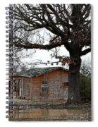 Derelict In Hope Spiral Notebook