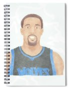 Derrick Williams Spiral Notebook