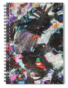 Dervish And The Rainbow  Spiral Notebook