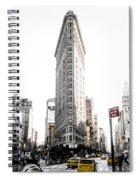Desaturated New York Spiral Notebook