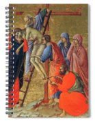 Descent From The Cross 1311 Spiral Notebook