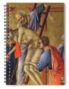 Descent From The Cross Fragment 1311 Spiral Notebook
