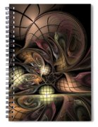 Describing Descartes Spiral Notebook
