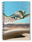 Desert Cobra Spiral Notebook