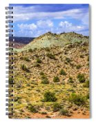 Desert Colors Spiral Notebook