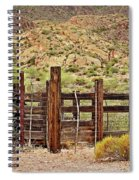 Desert Corral Spiral Notebook