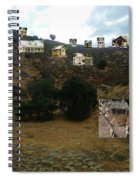 Desert Cottages Spiral Notebook