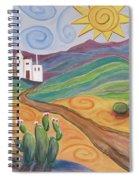 Desert Dreams Spiral Notebook