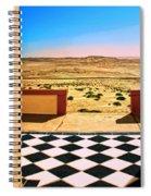 Desert Dreamscape Spiral Notebook