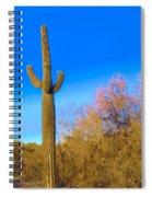 Desert Duo In Bloom Spiral Notebook