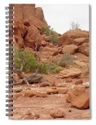 Desert Elements 5 Spiral Notebook