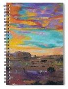 Desert Finale Spiral Notebook
