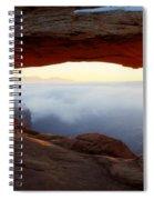 Desert Fog Spiral Notebook