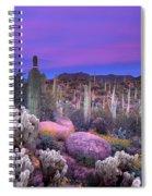 Desert Garden Spiral Notebook