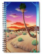 Desert Gazebo Spiral Notebook