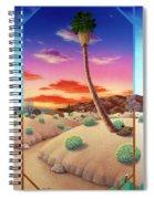 Desert Gazebo Spiral Notebook