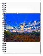 Desert Glory Spiral Notebook